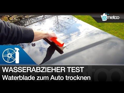 Wasserabzieher ja oder nein - Water Blade - Flexiblade Nigrin Silikon Trockner im Test - 83metoo