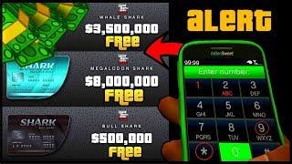 Download Lagu How To Get A Free $8,000,000 Shark Card In GTA 5 Online! (GTA 5 Online Money Glitch) 100% Legit 1.44 Mp3