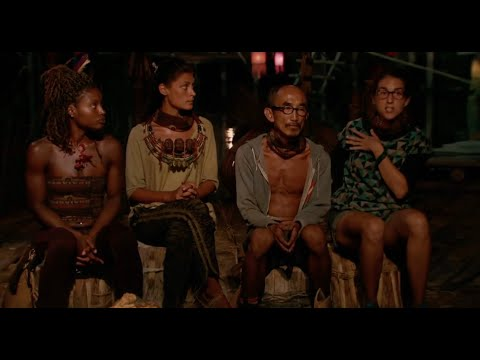 S32E14 Tribal Council Final 4 (Part 1 of 3), Survivor: Kaôh Rōng: Not Going Down Without a Fight