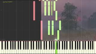 Утреннее настроение (Ноты и Видеоурок для фортепиано) (piano cover)