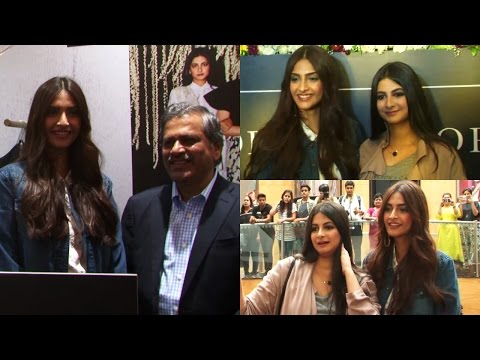 Sonam Kapoor | Rhea Kapoor | Launch Rheson A New Clothing Brand