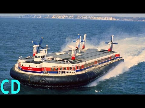 What Happened to the Giant Hovercraft SR-N4? - The Concorde of the Seas