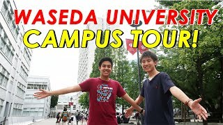 Video WASEDA UNIVERSITY CAMPUS TOUR! 早稲田大学キャンパスツアー(西早稲田) MP3, 3GP, MP4, WEBM, AVI, FLV November 2018