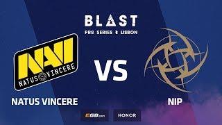 Natus Vincere vs NiP, overpass, BLAST Pro Series: Lisbon 2018