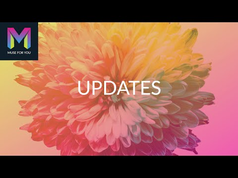 New Updates | Muse For You Widgets | Adobe Muse CC