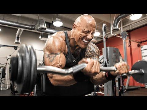 """Dwayne""""The Rock"""" Johnson Workout 2016"""