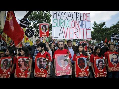 Γαλλία: Πορεία διαμαρτυρίας Κούρδων στο Παρίσι