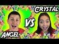 Angel VS Crystal - Warheads Arcade Challenge