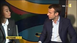 Video Emmanuel Macron au Guyane soir du 20 décembre - Guyane 1ère MP3, 3GP, MP4, WEBM, AVI, FLV Agustus 2017