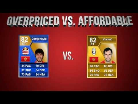 FIFA 13 | OverPriced vs Affordable EP 21: ToTS Damjanovic vs Vucinic