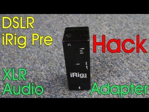 iRig Pre Hack, cheap XLR phantom power preamp for your DSLR – DSLR FILM NOOB