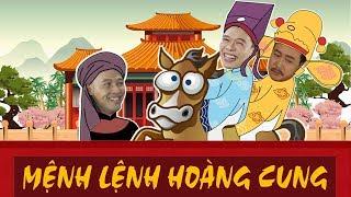 Video Phim ca nhạc MỆNH LỆNH HOÀNG CUNG | Trung Ruồi | Phim hài 2019 MP3, 3GP, MP4, WEBM, AVI, FLV Januari 2019