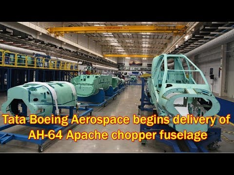 Tata Boeing facility delivers 1st...