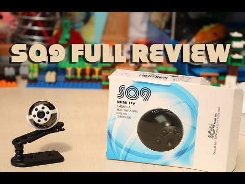 SQ9 Mini Camera Review - SQ9 Video Samples & How To Use