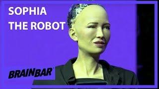 Video My Greatest Weakness is Curiosity   Sophia the Robot at Brain Bar MP3, 3GP, MP4, WEBM, AVI, FLV Desember 2018