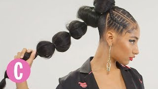 You'll Love This Chic Pony Puff & Glamorous Stitch Ponytails | Cosmopolitan