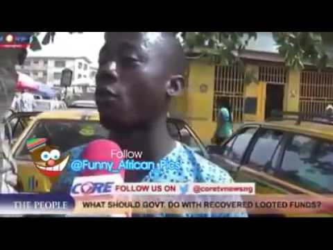 Funny Street Interview With A Man On Change In Nigeria