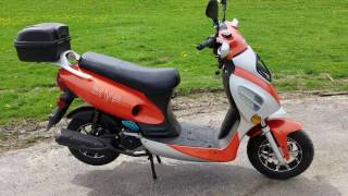 7. 50cc MVP Scooter Moped Tangerine Boom Scooter For Sale Limited Edition