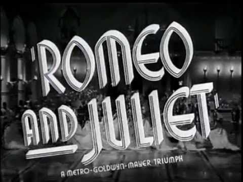 Romeo And Juliet 1936 Official Trailer (Nominated Oscar / Best Picture)