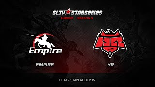 HR vs Empire, game 1