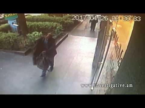 Ավտոմեքենայից գողացել են պայուսակներ (տեսանյութ և լուսանկաներ)
