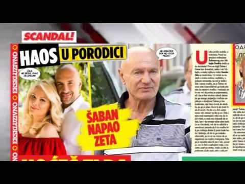 SCANDAL NOVINE: Cecin novi album, stihovi i sve nove pesme, Kaća rasturila fudbaleru porodicu, Šaban napao zeta – hoćeš li oženiti moju Ildu