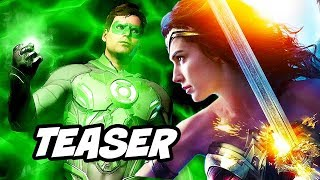 Video Justice League Green Lantern Teaser - Wonder Woman 2 and Major DC Changes Explained MP3, 3GP, MP4, WEBM, AVI, FLV Agustus 2018