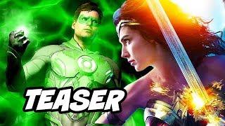 Video Justice League Green Lantern Teaser - Wonder Woman 2 and Major DC Changes Explained MP3, 3GP, MP4, WEBM, AVI, FLV September 2018