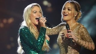 Video Rita Ora and Louisa Johnson sing And I am Telling | The X Factor UK 2015 MP3, 3GP, MP4, WEBM, AVI, FLV Maret 2018