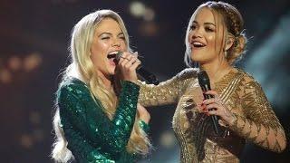 Video Rita Ora and Louisa Johnson sing And I am Telling | The X Factor UK 2015 MP3, 3GP, MP4, WEBM, AVI, FLV Juli 2018