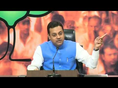 Press Conference by Dr. Sambit Patra on National Herald Scam: 22.10.2015
