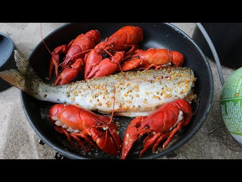 Catch n' Cook SPICY Crawfish and WILD Trout! - Thời lượng: 23 phút.