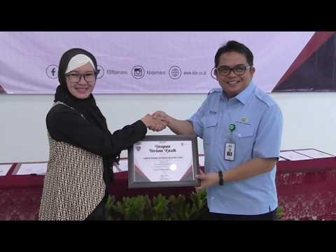 Pisah Sambut Peserta Program Magang Mahasiswa Bersertifikat di KBN