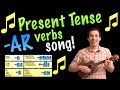 Present Tense -AR Verbs Made Easy with a Song in - YouTube