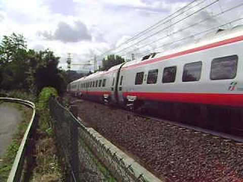 New Pendolino ETR 600 near Florence, Italy #1