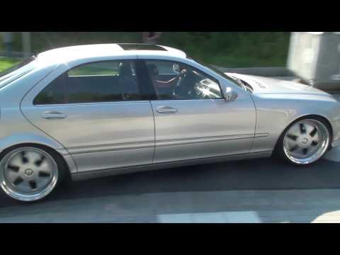 MAE Mega Breitbau Mercedes S-Klasse S65 W220 Part II (видео)