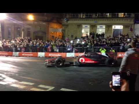 Frome Jenson Button Christmas Lights