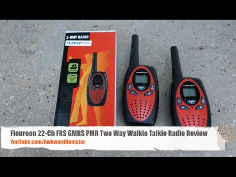 Floureon 22-Channel FRS GMRS PMR Two Way Walkie Talkie Radio Review