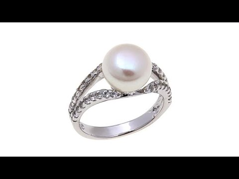 Imperial Pearls 99.5mm Cultured Pearl Ring