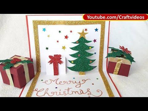 Pop up Christmas Card Tutorial