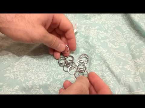 Набор 20мм колец для ключей