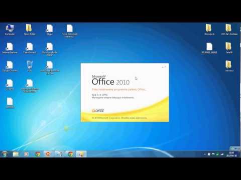 jak zainstalować office 2010 za darmo