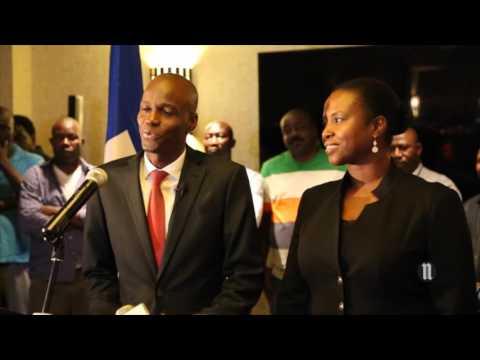 Discours de Jovenel Moïse après les résultats préliminaires de l'élection présidentielle