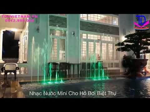 Thiết Kế Đài Phun Nước Lập Trình Cho Sân Vườn Biệt Thự