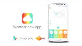 Weather now App YouTube video