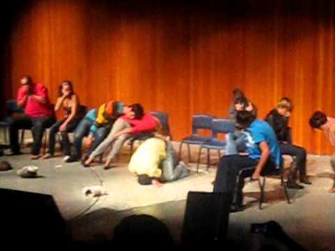 Damian the Hypnotist - MSVU 2011 - Farting - Stuck to chair