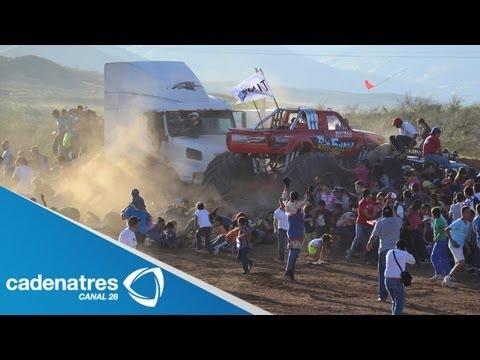 Accidente en exhibición de Monster Truck deja 8 muertos; Chihuahua decreta tres días de luto