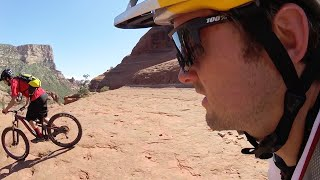 Image: Terrifying MTB Trail Ride With Aaron Chase and a GPS-Tracking Drone