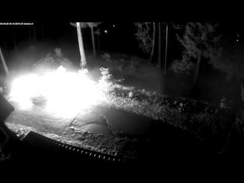 Podpalenie auta w Karpaczu