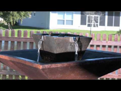 Video for Kenei Copper Bronze Outdoor Floor Fountain